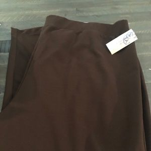 Catherine's brown pull on pants